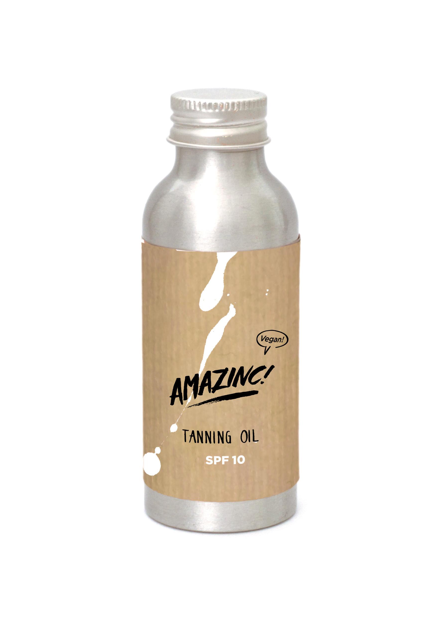 Amazinc Tanning Oil - Small - SPF 10+