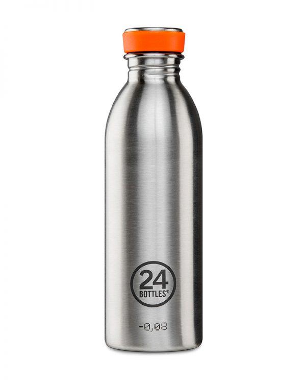 24Bottles Urban drikkedunk i rustfrit stål – Steel – 500 ml.