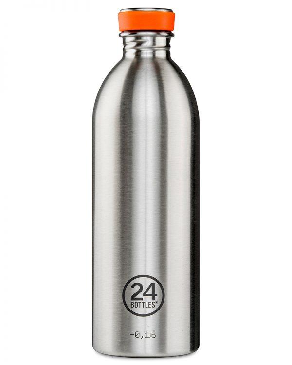 24Bottles Urban drikkedunk i rustfrit stål – Steel – 1000 ml.