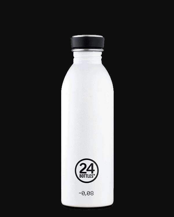24Bottles Urban drikkedunk i rustfrit stål – Ice White – 500 ml.