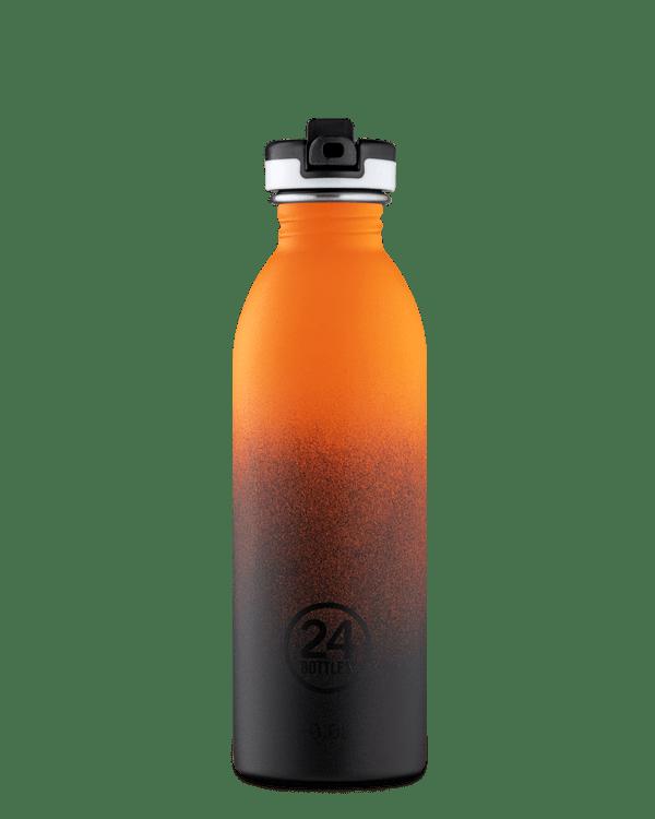 24Bottles Urban drikkedunk i rustfrit stål – Jupiter – 500 ml. – med sportslåg