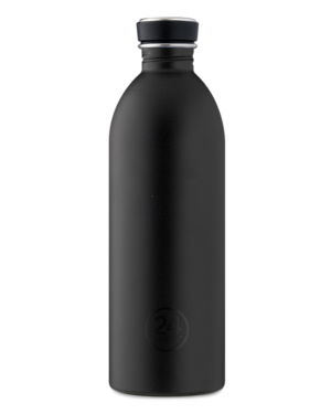 24Bottles Urban drikkedunk i rustfrit stål – Tuxedo Black – 1000 ml.