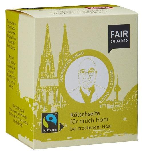 Fair Squared Økologisk Øl shampoobar – 2 stk. – til tørt hår