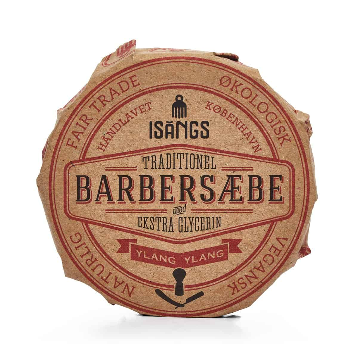 Barbersæbe fra Isangs – Ylang Ylang – 70 g.