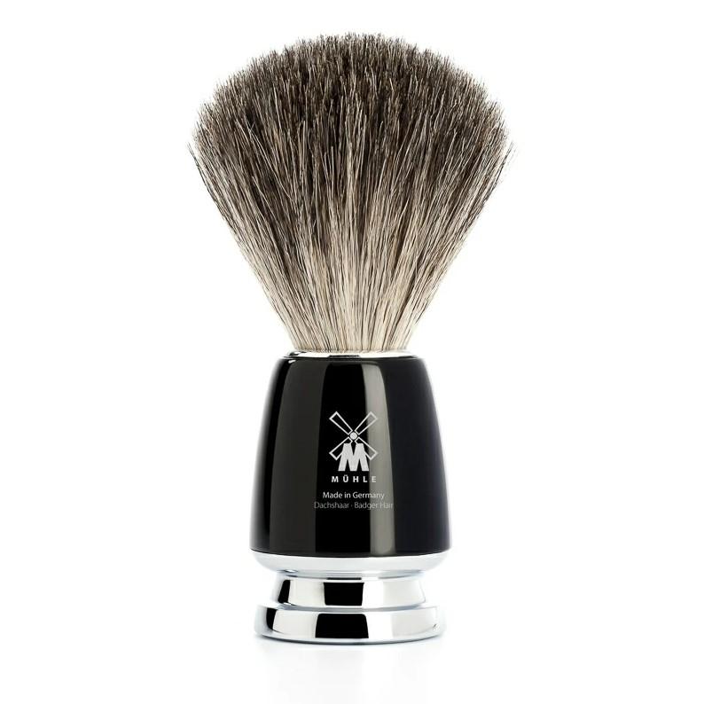 Barberkost – Pure Badger – Rytmo – Sort kunstharpiks