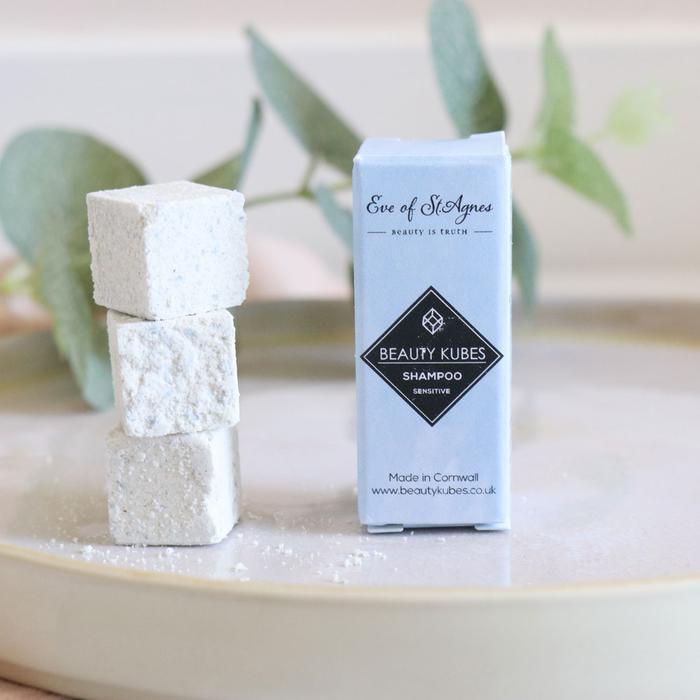 Prøve - Shampoo bar - Sensitiv - til følsom hovedbund