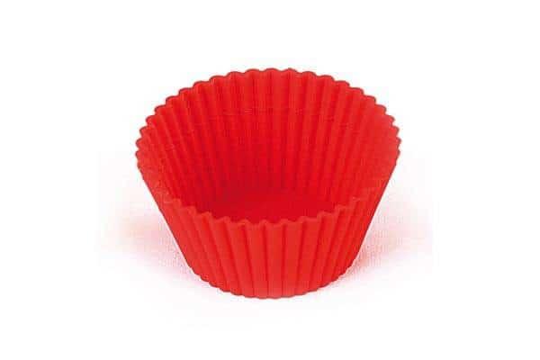 Genanvendelig bageform i platinsilikone - cup cake